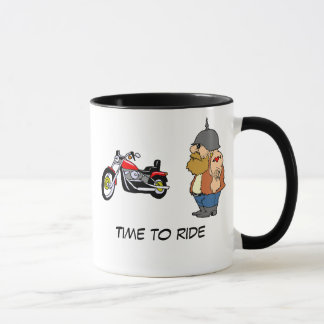 Time To Ride Mug