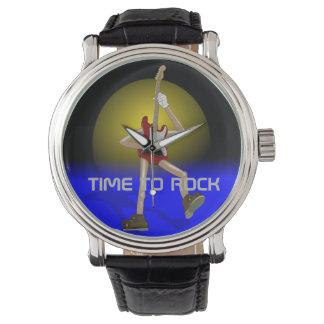 TIME TO ROCK Custom watch