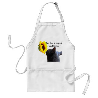 Time to Smell Flowers Standard Apron