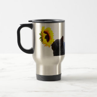 Time to Smell the Flowers Stainless Steel Travel Mug