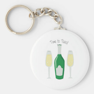 Time To Toast Key Chains