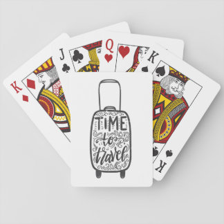 Time To Travel Playing Cards