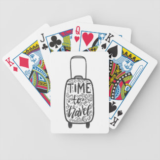 Time To Travel Poker Deck