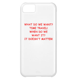 time travel iPhone 5C cover
