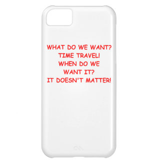 time travel iPhone 5C case