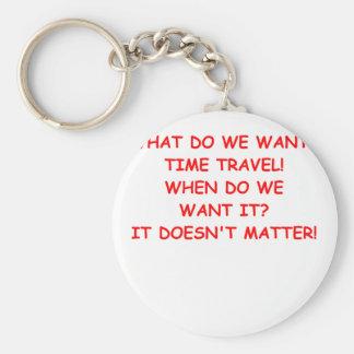 time travel key chains