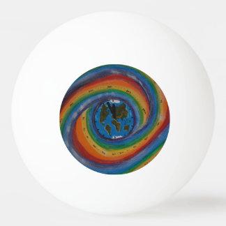 Time travel ping pong ball