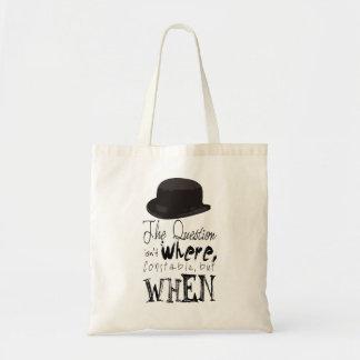 Time Travel Tote Bag! Budget Tote Bag