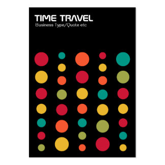 Time Travel v1.2 - Colors 02 Pack Of Chubby Business Cards