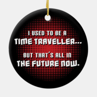 Time Traveller Christmas Ornament