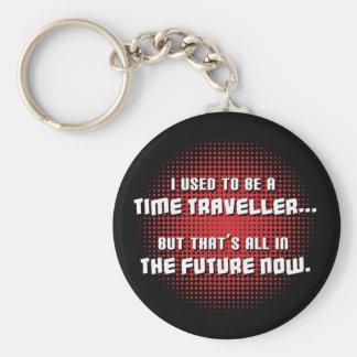 Time Traveller Key Chain