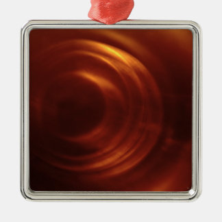 Time Traveller's Orange Vortex Christmas Ornament