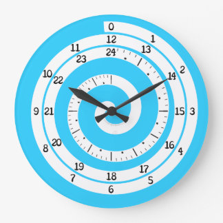 Time Vortex Clock (Refreshing Blue)