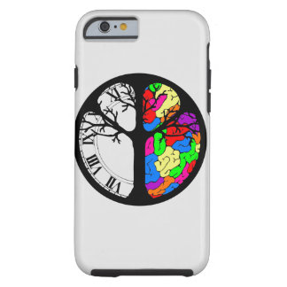 Time Vs Your Brain Case Tough iPhone 6 Case