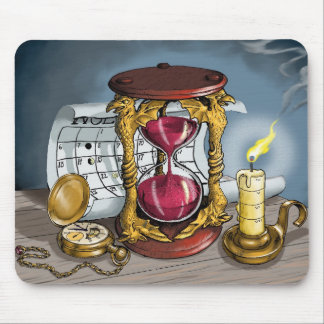Time Waits for Nobody Mouse Mat