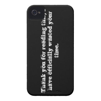 Time Wasted. Case-Mate iPhone 4 Case