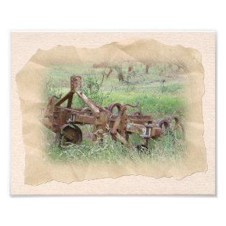 Time Worn Farm Plough Photo Art
