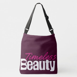 Timeless Beauty Cross-Body Tote Bag