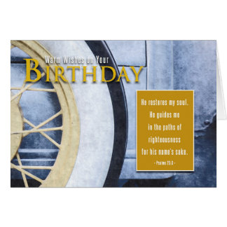 Timeless Classic - Inspirational Birthday Card
