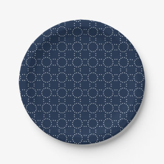 Timeless Dots Paper Plate