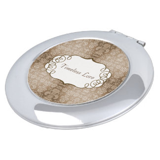 Timeless-Love-Full-Template-Beige-Multi-Shapes Mirror For Makeup