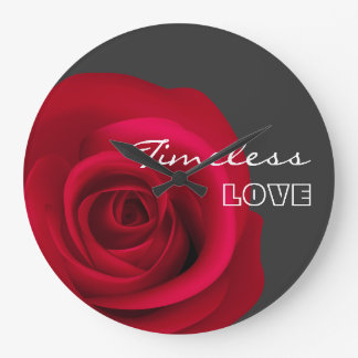 Timeless Love. Valentine's Day Gift Wall Clock