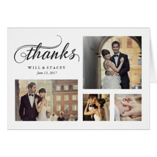 Timeless Thank You Card