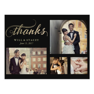 Timeless Thank You Postcard