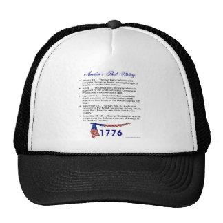Timeline 1776 hats