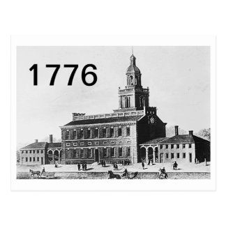 Timeline 1776 postcard