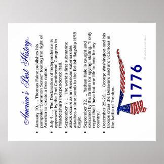 Timeline 1776 poster