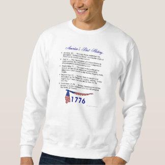 Timeline 1776 pullover sweatshirts