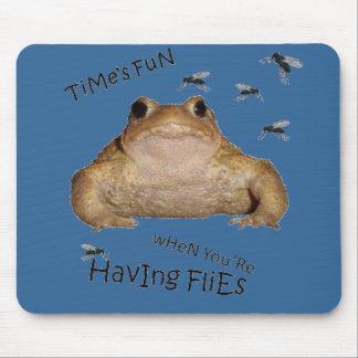 Time's Fun When You're Having Flies Mousemats