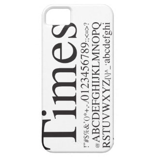 Times iPhone 5 Cover