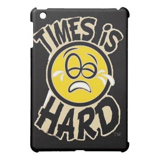 Times Is Hard iPad Case