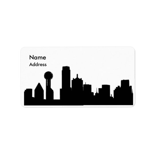 Times Square Address Labels