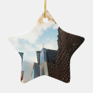 Times Square and the Paramount Building Ceramic Star Decoration