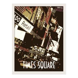 Times Square Art Postcards