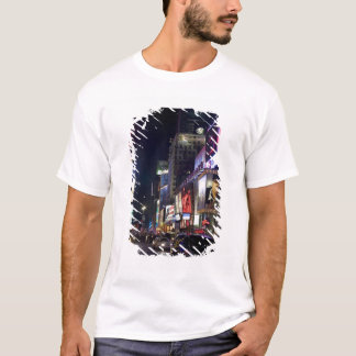Times Square at night in Manhattan, New York T-Shirt