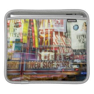 Times Square at Twilight iPad Sleeve