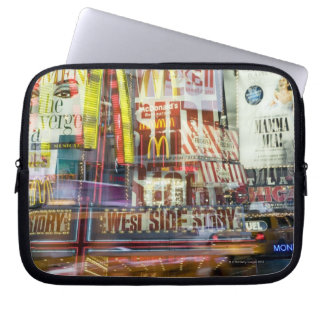 Times Square at Twilight Laptop Sleeve
