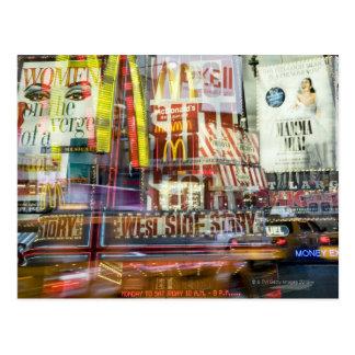 Times Square at Twilight Postcard