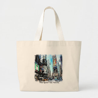 Times Square Tote Bags