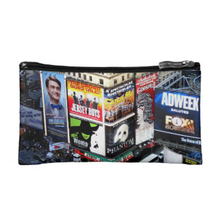 Times Square Cosmetic Bags
