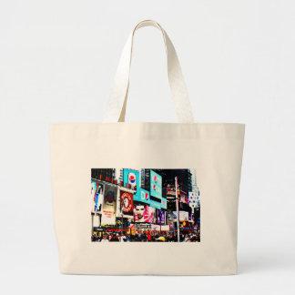 Times Square Canvas Bag