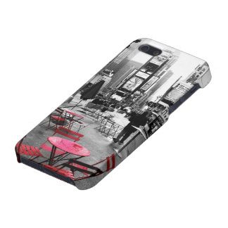 Times Square Black White Red iPhone 5 Case