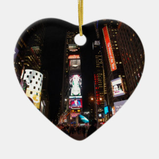 Times Square Ceramic Heart Decoration