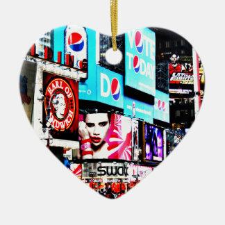 Times Square Christmas Ornament