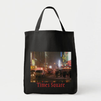 Times Square Grocery Tote Tote Bag