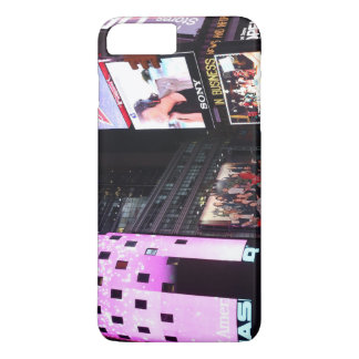 Times Square in New York City (pink) iPhone 7 Plus Case